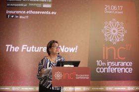 Θεσμικός Χαιρετισμός:  Μαργαρίτα Αντωνάκη, Γενική Διευθύντρια, Ένωση